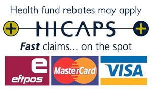Hicaps and EFTPOS available
